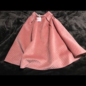 Vintage quilted skirt